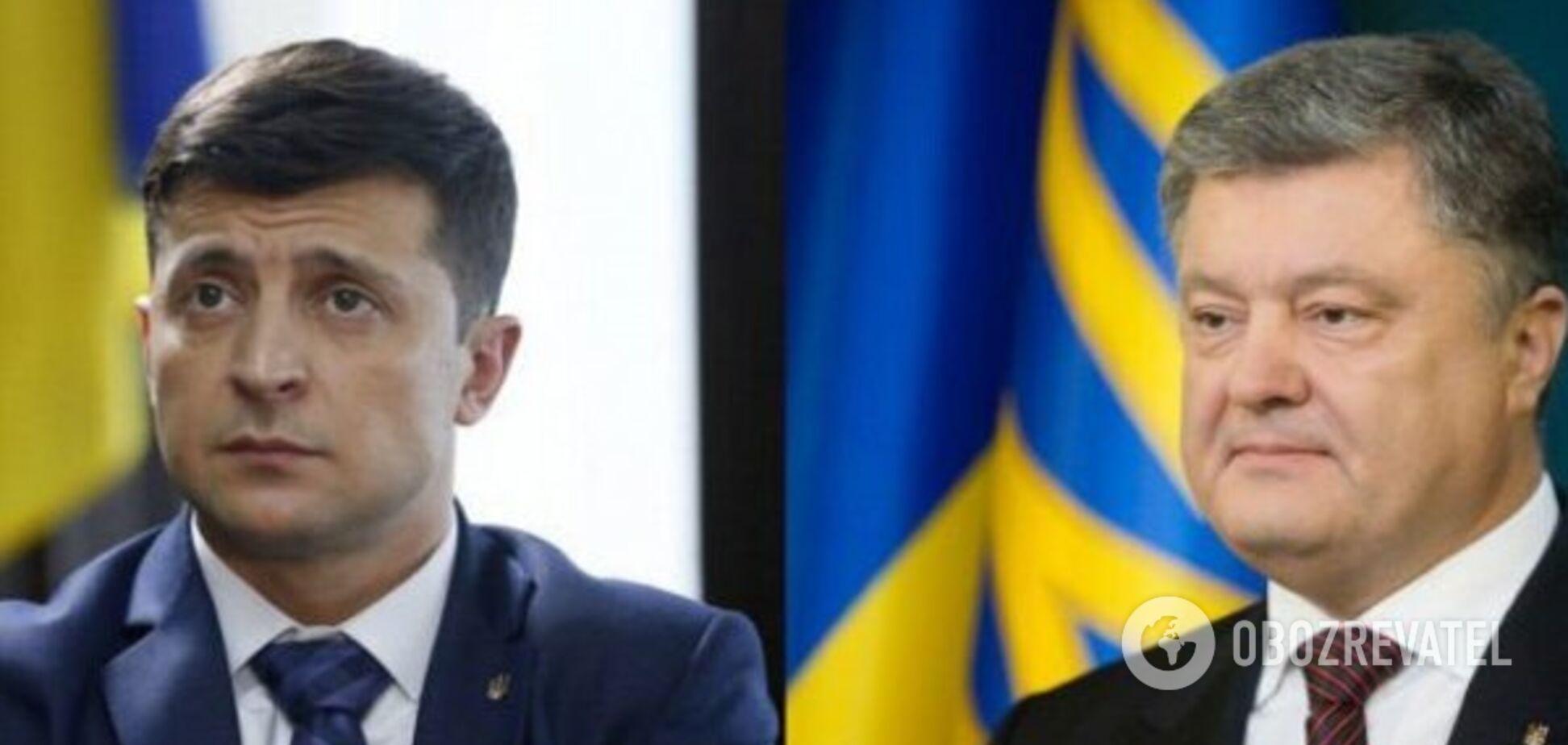 Дебати Порошенка і Зеленського: названа вартість проведення на 'Олімпійському'