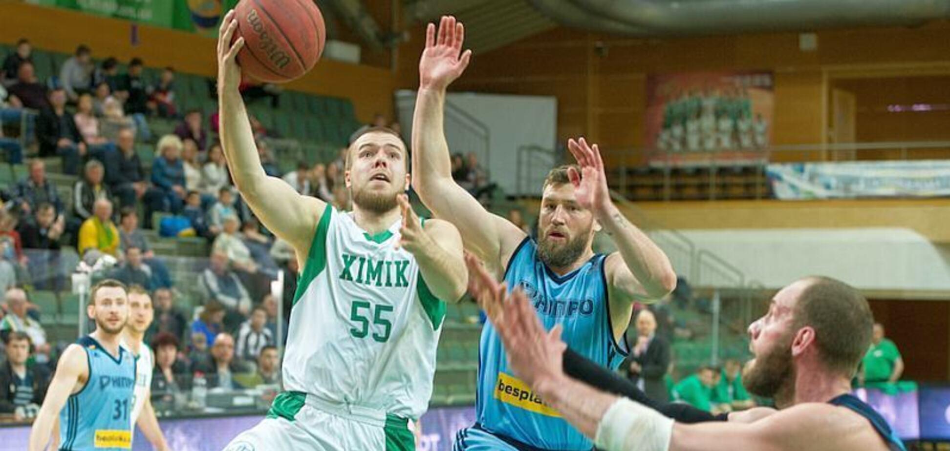 Химик – Днепр: видеотрансляция матча за Суперкубок Украины по баскетболу