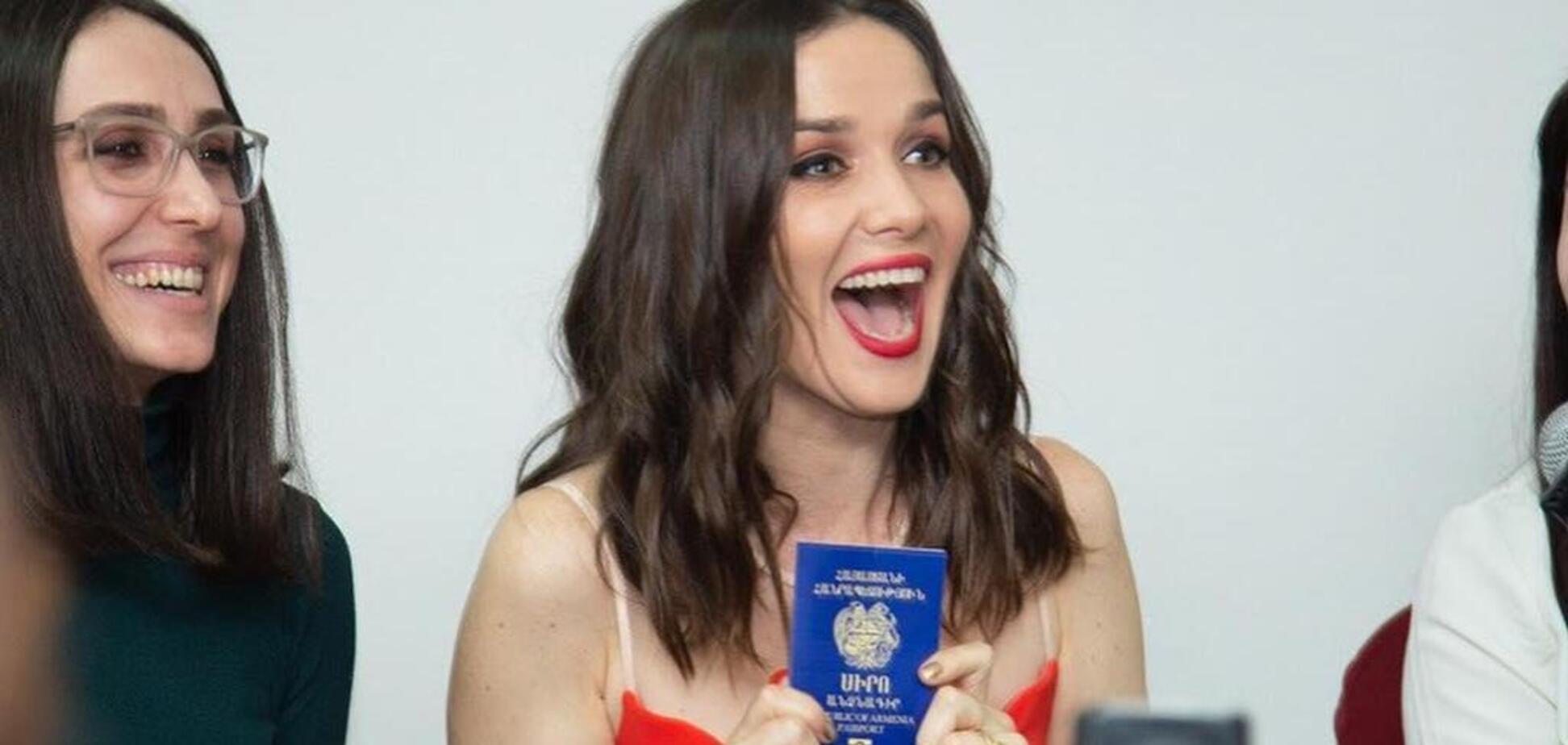 Орейро, яка просила російське громадянство, отримала паспорт у Вірменії
