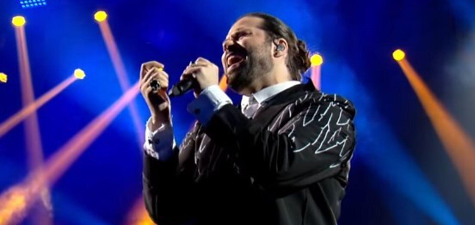 Український співак підняв зал ''Голосу країни'' на ноги: відео