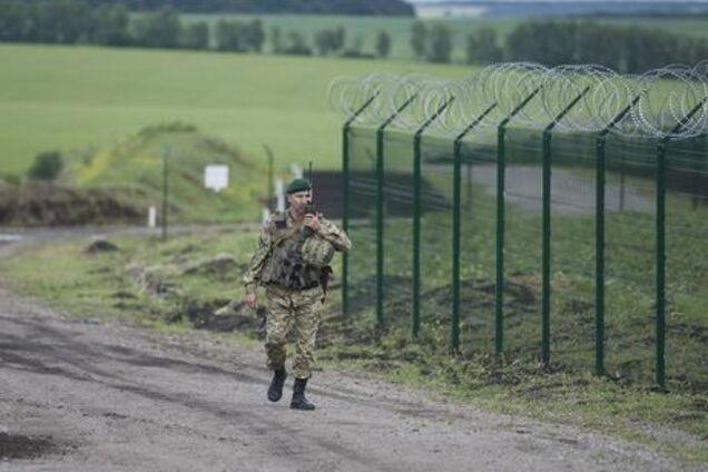 Стена на границе с Россией