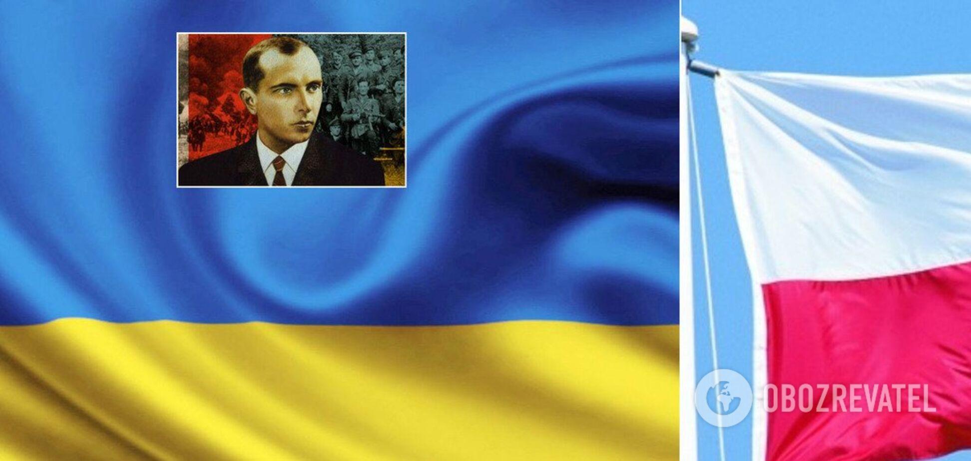 Між Україною та Польщею розгорівся новий скандал через Бандеру