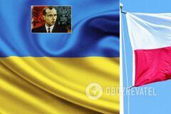 Между Украиной и Польшей разгорелся новый скандал из-за Бандеры
