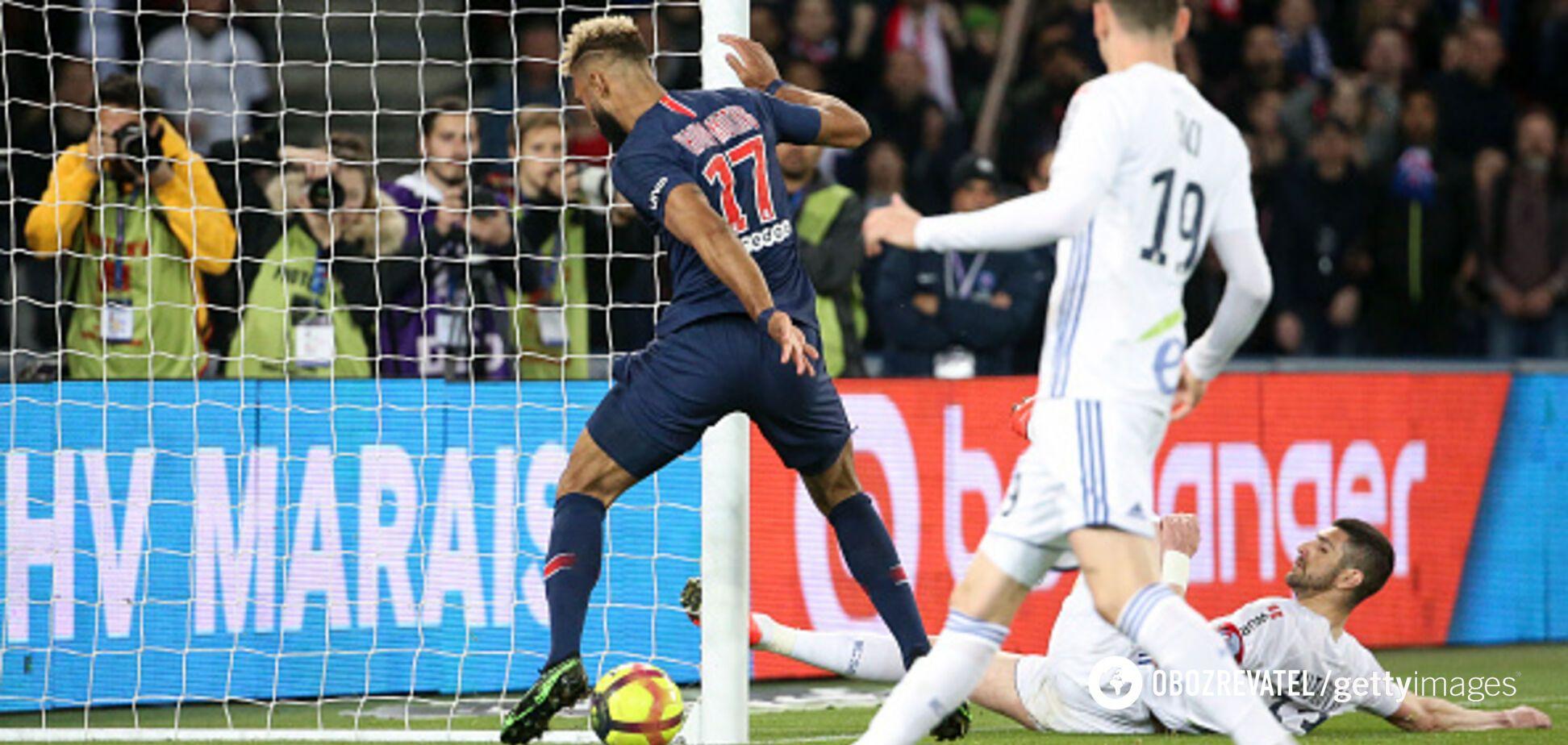 Футболист ПСЖ отметился самым диким промахом сезона: видео курьеза