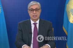 Президент Казахстану виступив зі зверненням до нації: про що говорив