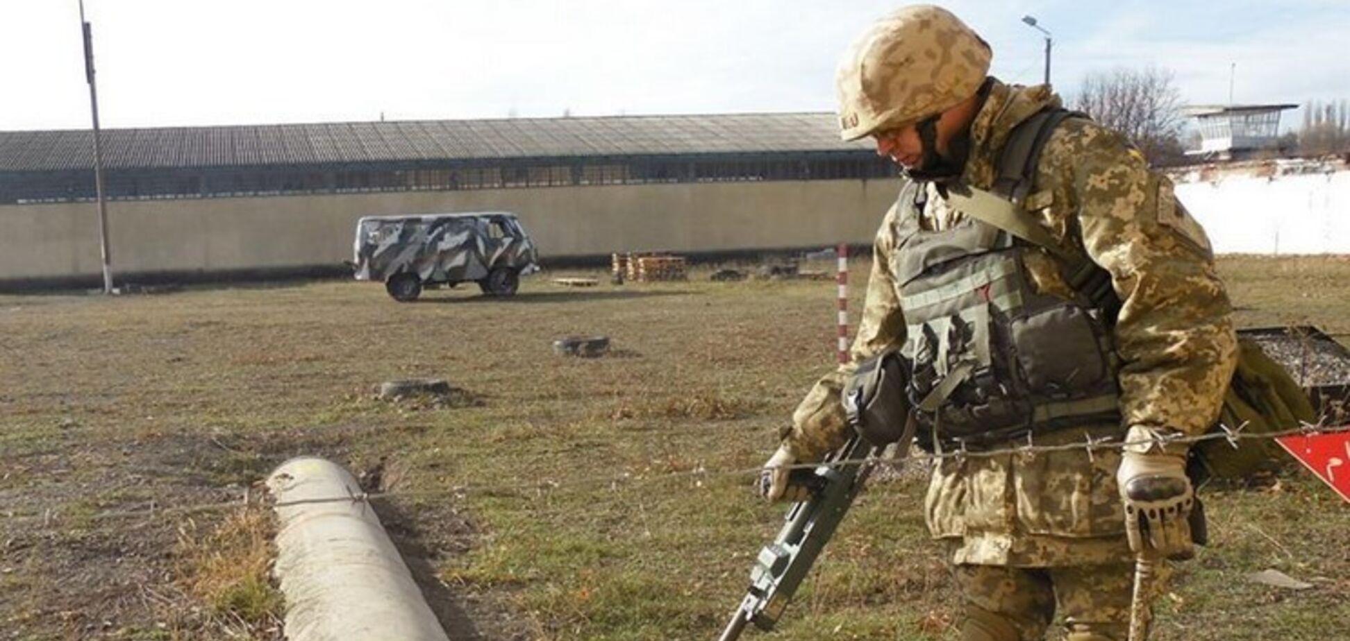 взрыв Донбасс ООС