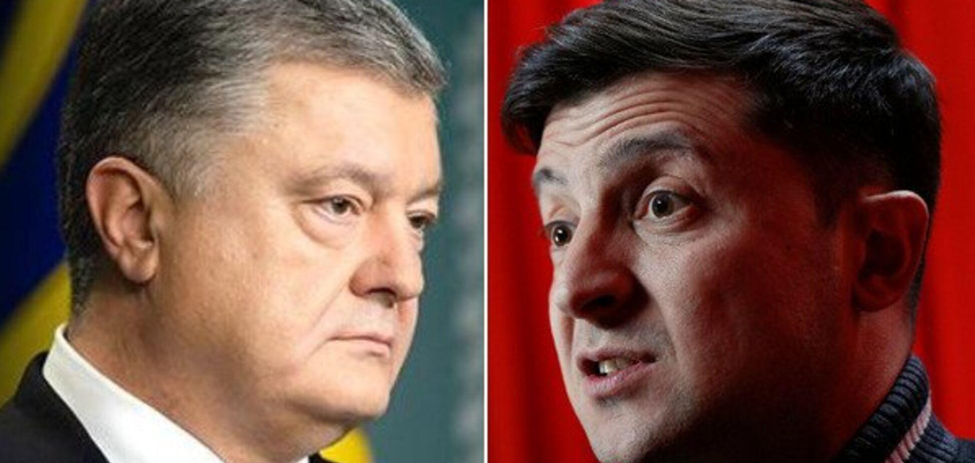 Стали известны миллионные расходы Порошенко и Зеленского на выборы