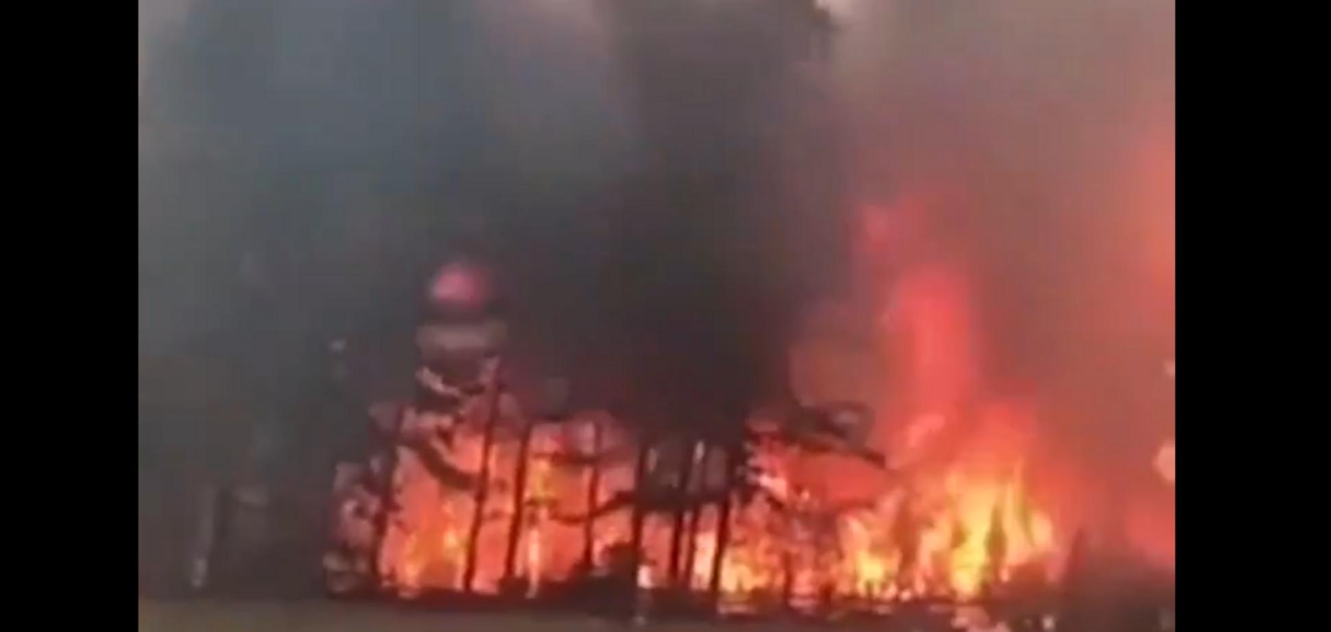 Жителі евакуюються: під російським Іркутськом спалахнула масштабна пожежа