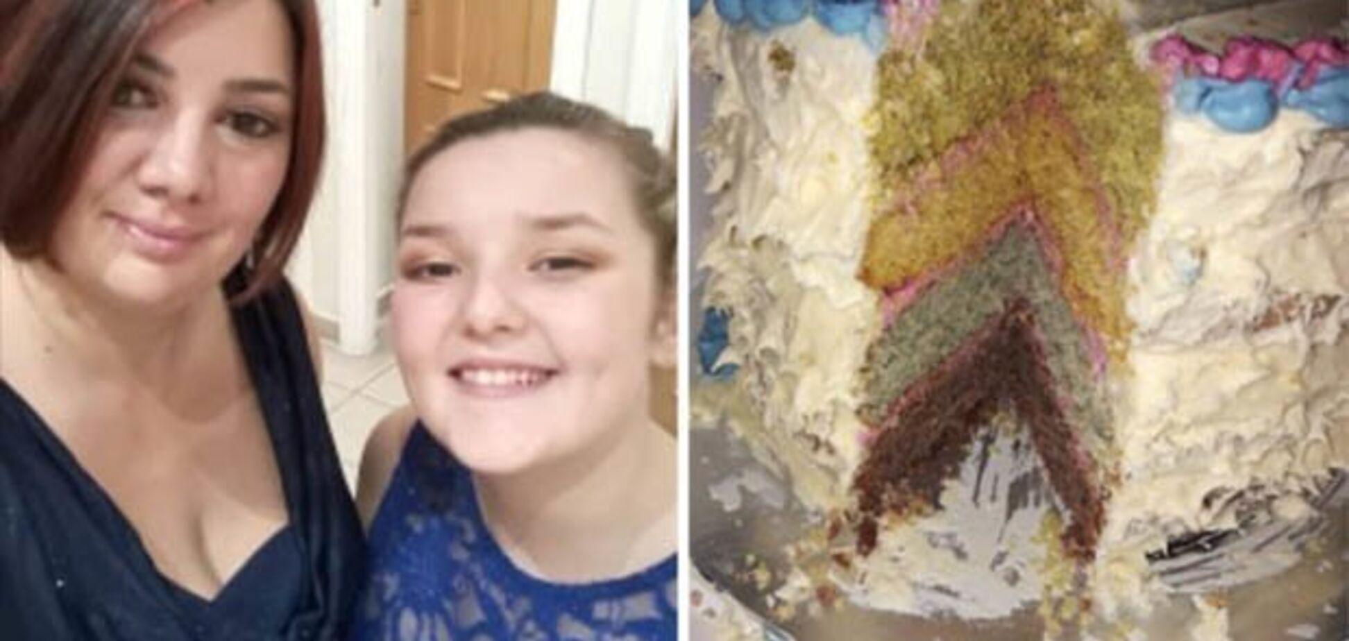 Жінка спекла святковий торт і розсмішила гостей та соцмережі