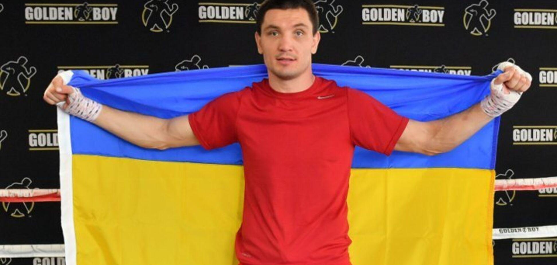 Український боксер відзначив повернення на ринг яскравою перемогою