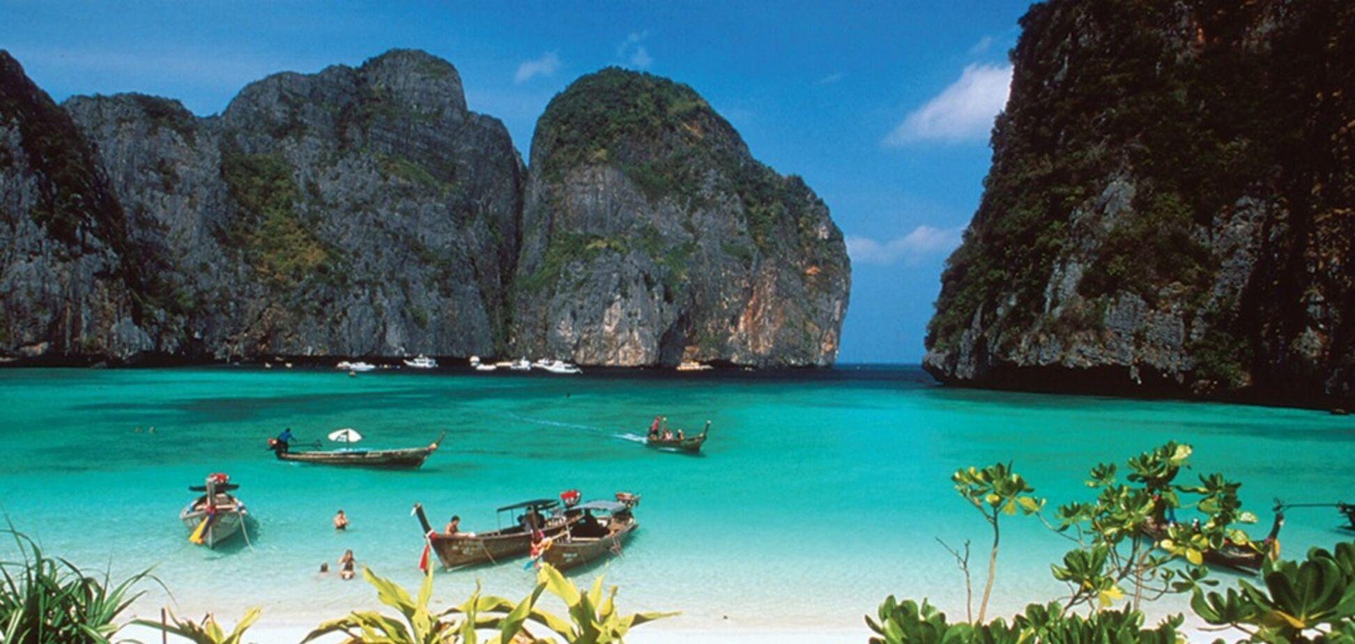 Бухта Майя Бей в Таїланді