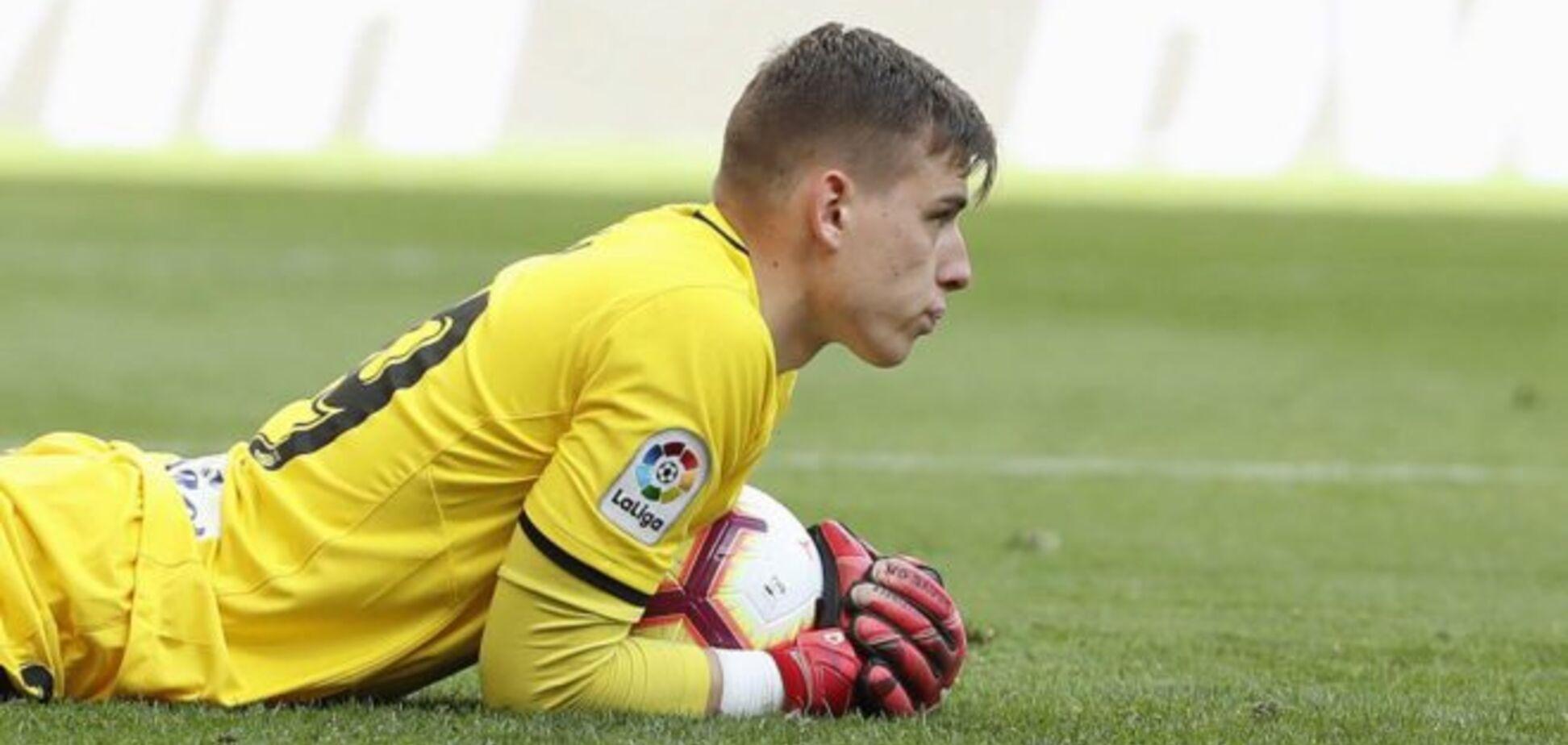 'Реал' відмовився від українського воротаря