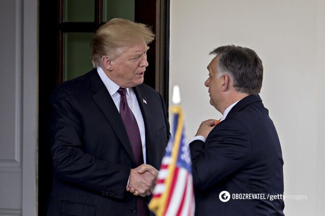 Трамп и Орбан