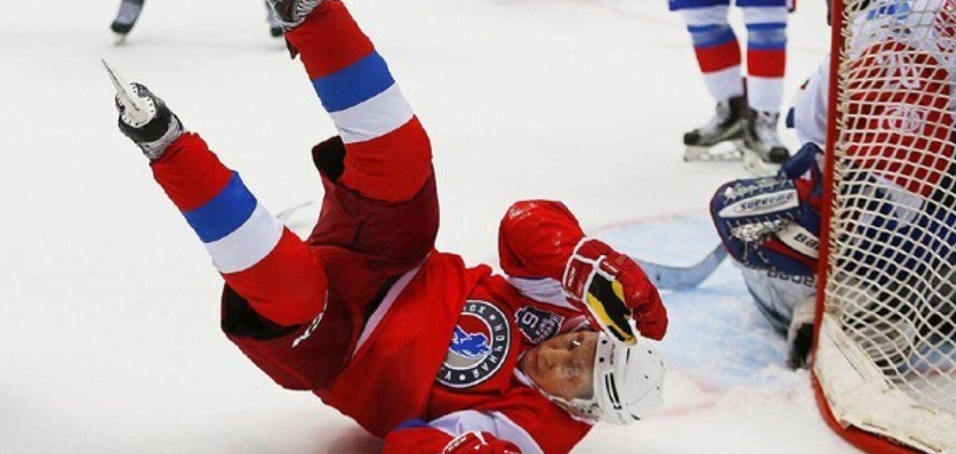 Падение Путина на хоккее: готовятся увольнения