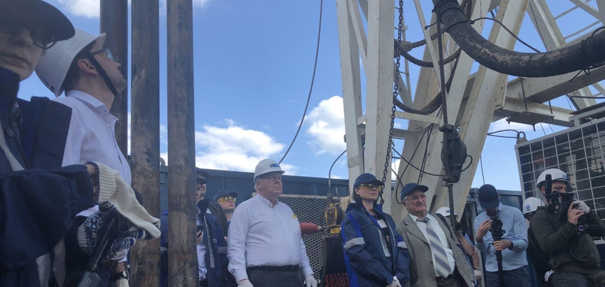 Экс-глава ЦРУ посетил месторождения украинского газа