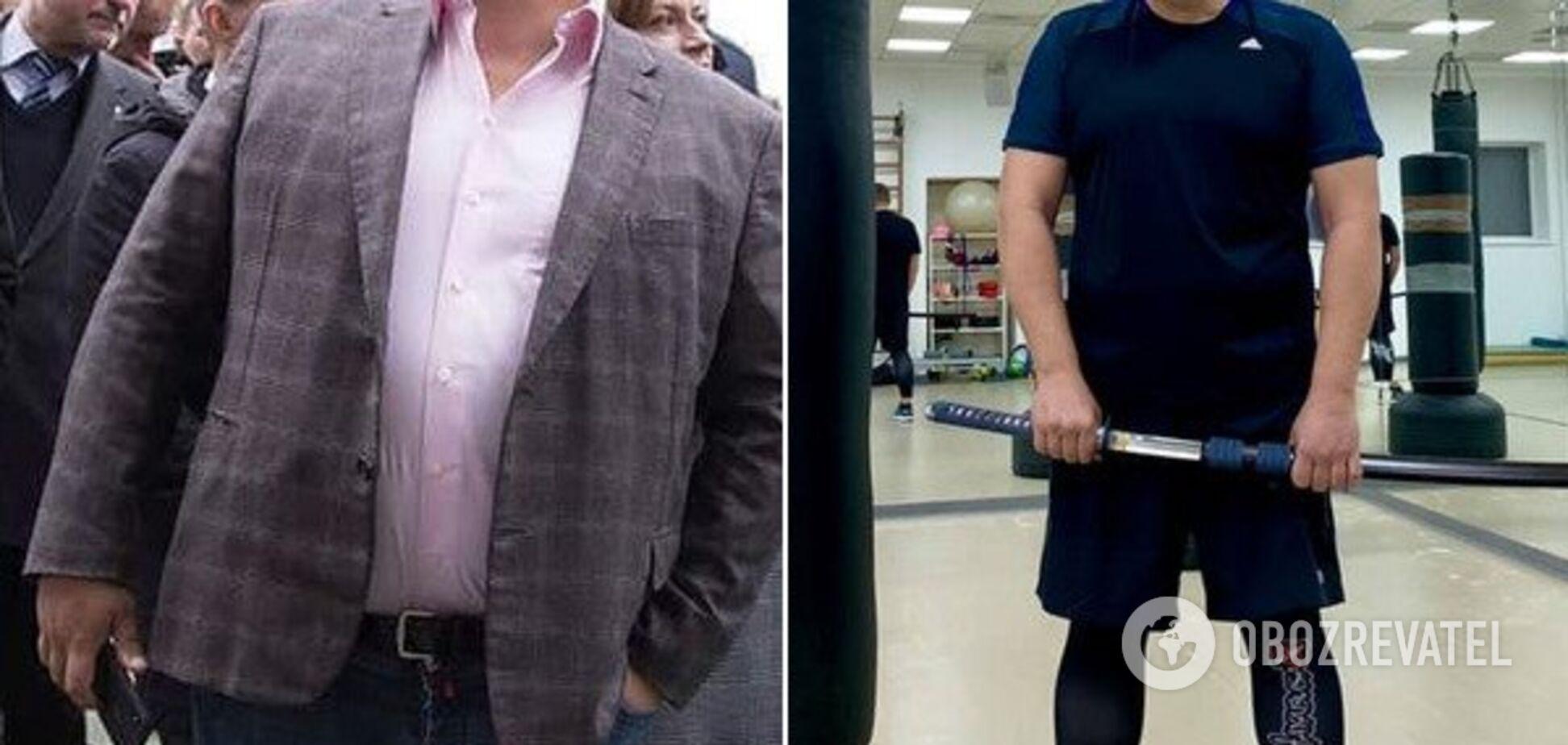 Еще один украинский политик сильно похудел: фото до и после