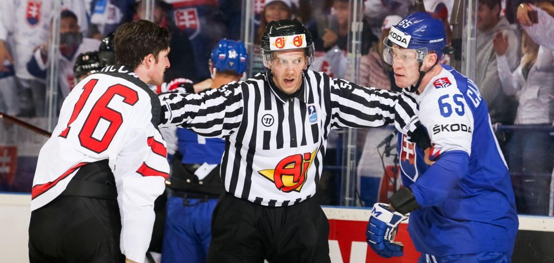 Сумасшествие дня: Словакия и Канада устроили триллер на чемпионате мира по хоккею