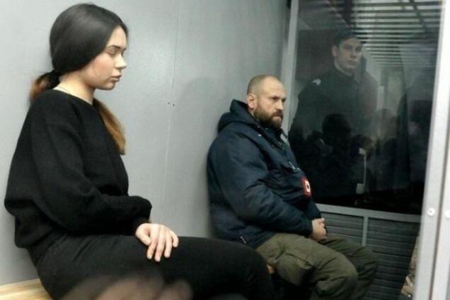 Зайцева и Дронов на одном из судебных заседаний