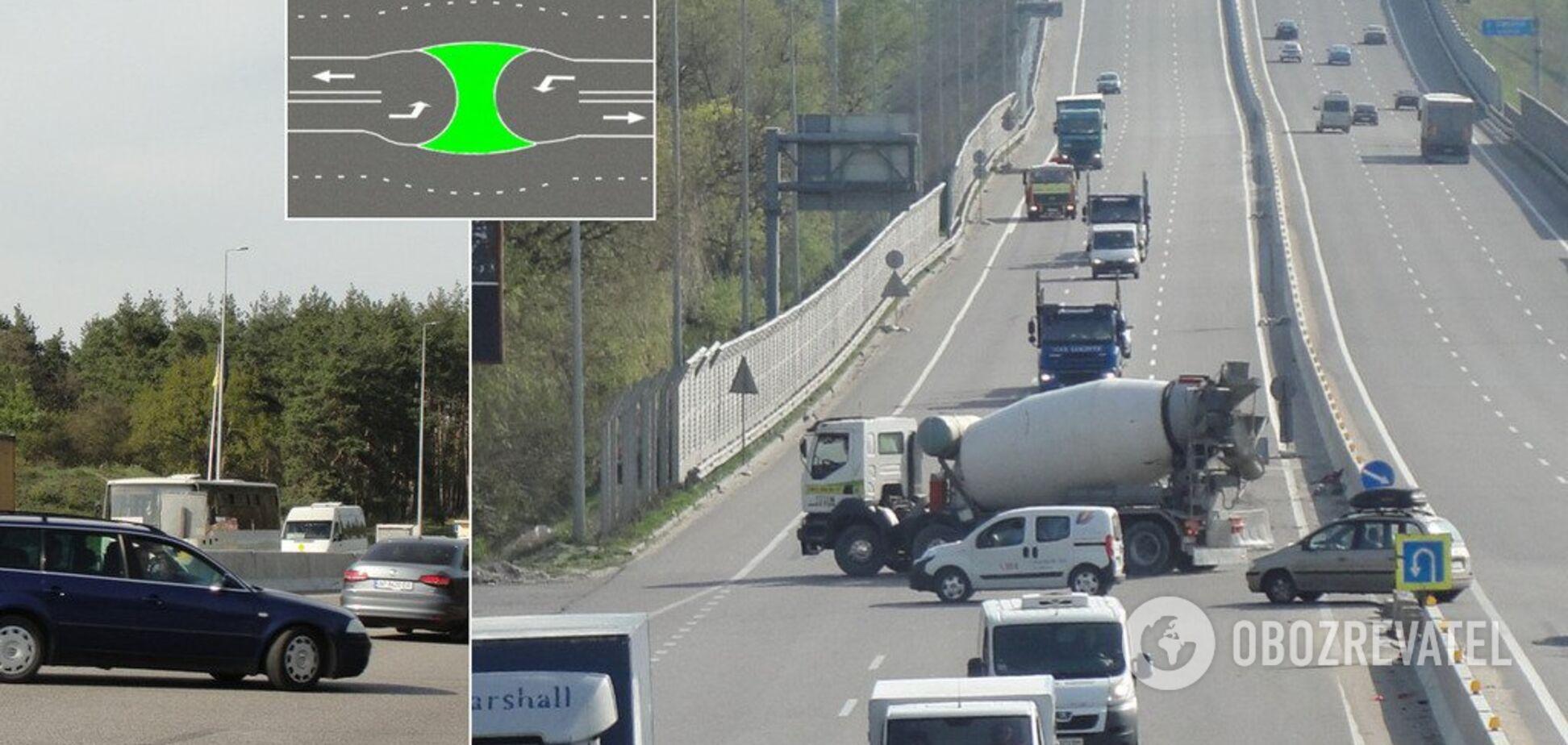 Адский поворот: водители определили опаснейший участок под Киевом