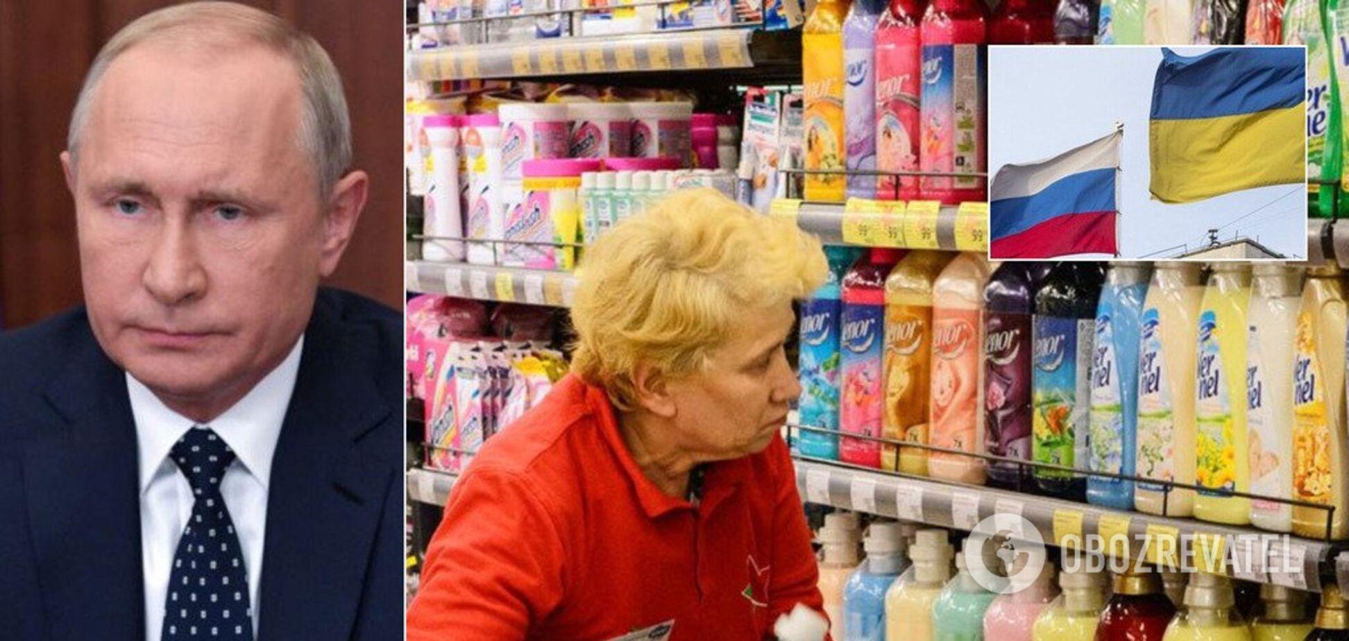 Торговая война Украины с РФ: что взлетит в цене и исчезнет с полок магазинов