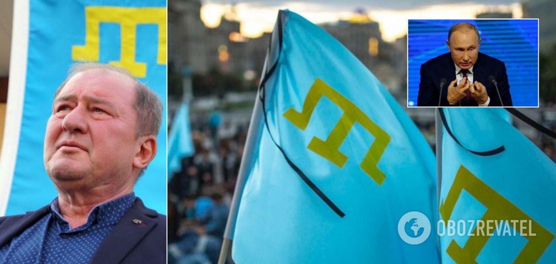 Путин хочет искоренить крымских татар, но мы ему не позволим – Умеров