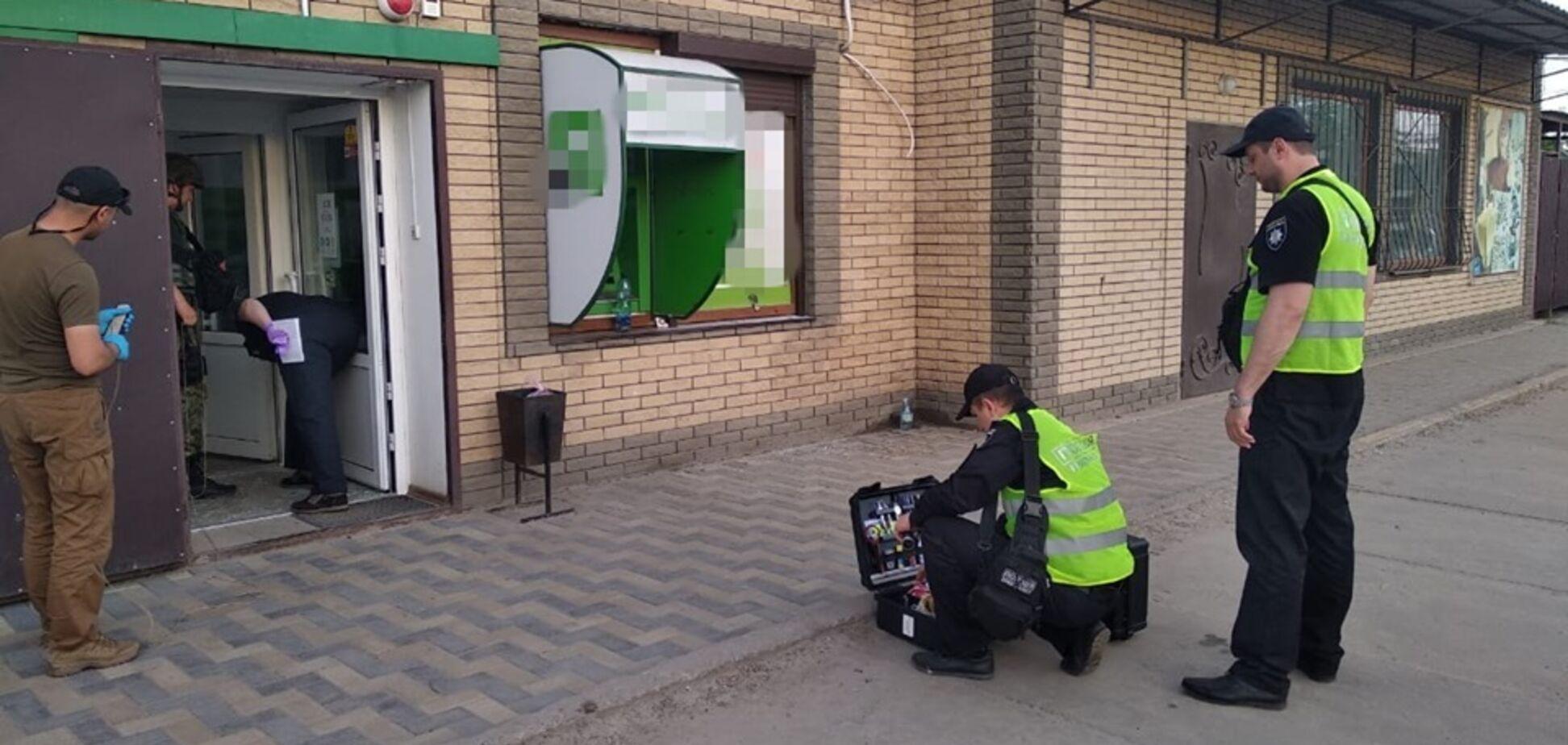 Вибух в банку на Луганщині