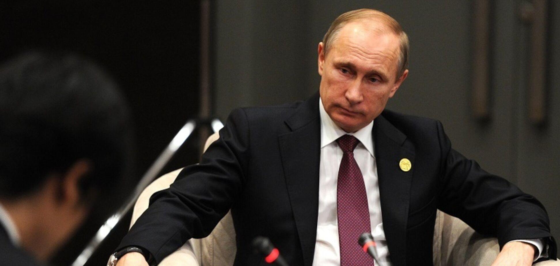 Путин в кресле, интервью