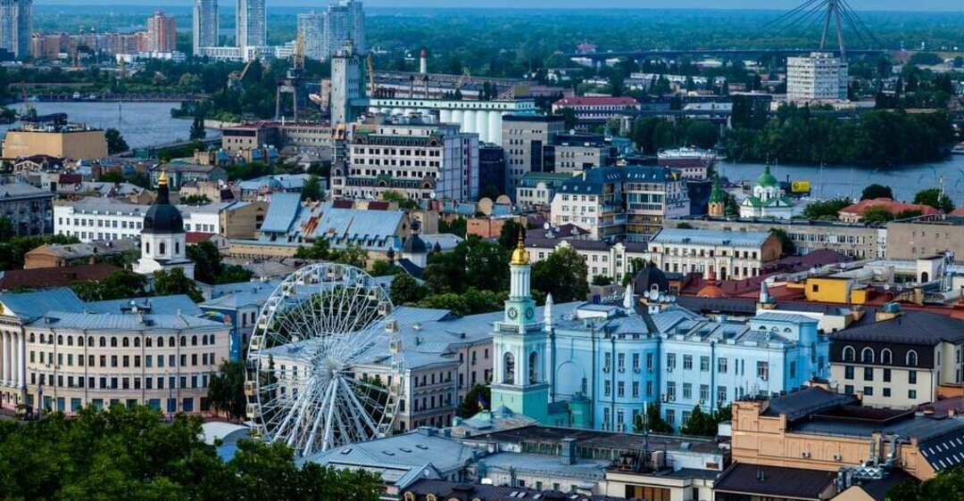 Пейзажи Киева попали в топ-10 захватывающих в мире