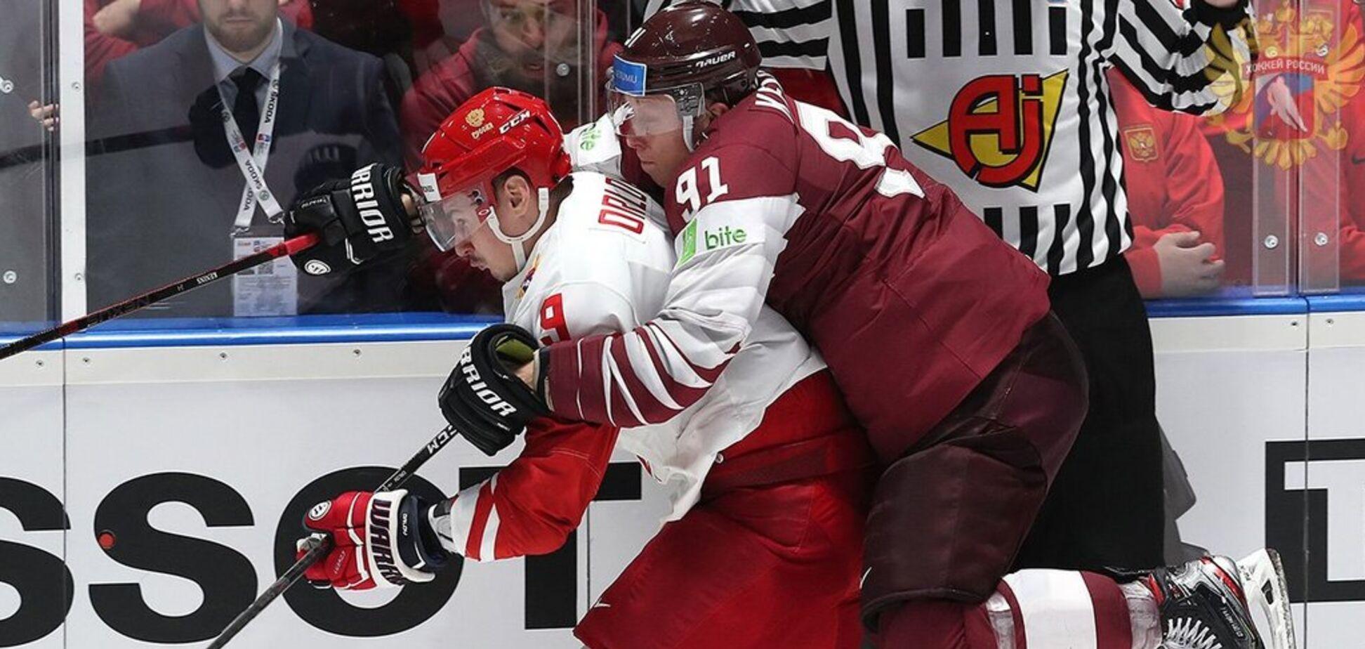 Росії не дали встановити рекорд на чемпіонаті світу з хокею