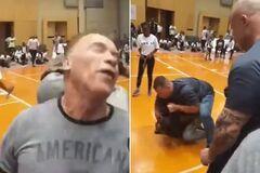 На Шварценеггера напали в ЮАР: момент попал на видео