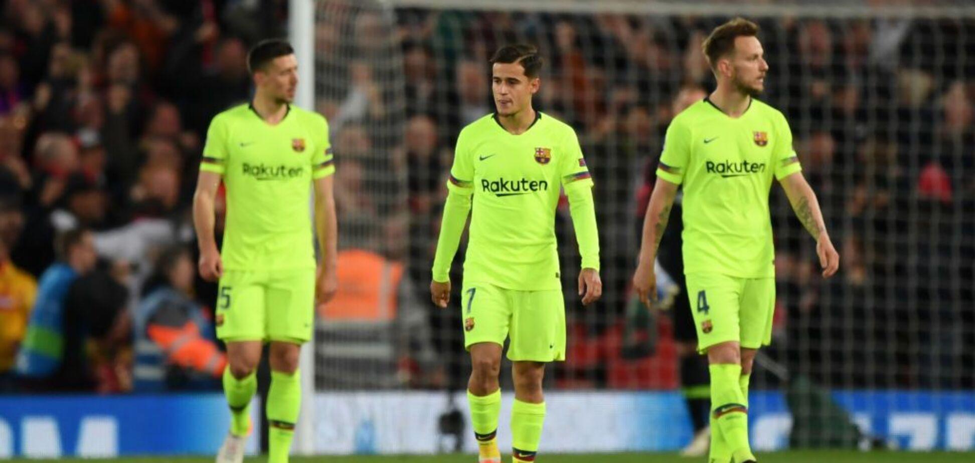Футболісти 'Барселони' влаштували бунт в команді