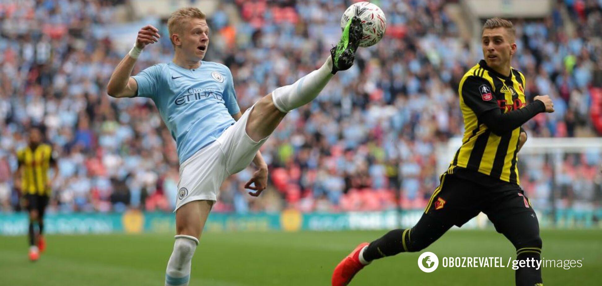 'У нього не тільки...' В 'Манчестер Сіті' в захваті від Зінченка