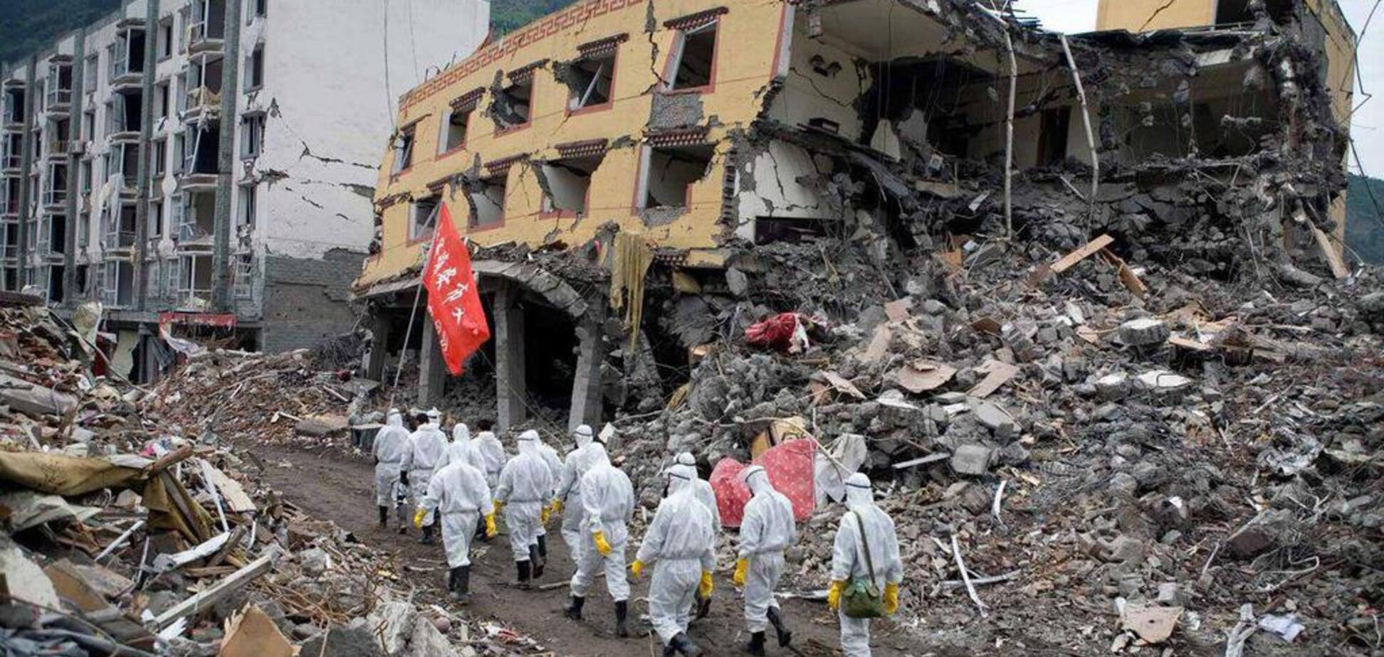 У Китаї стався потужний землетрус: 500 людей опинилися в зоні лиха