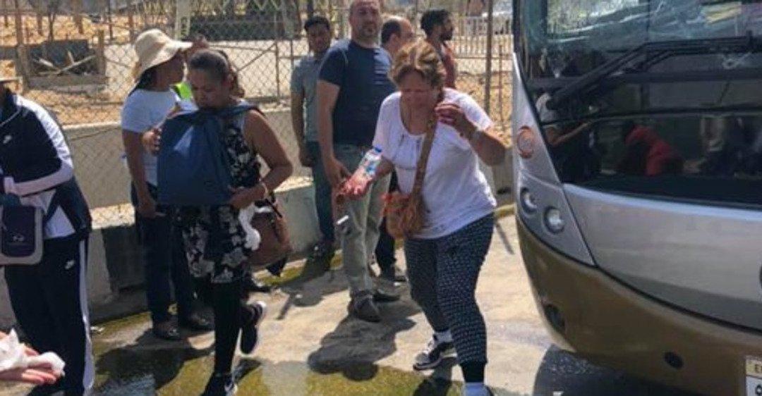 В Египте взорвалась бомба возле автобуса с туристами: первые фото