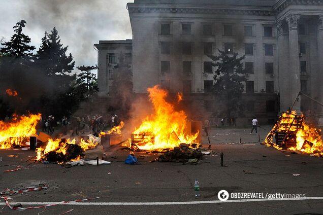 Трагедия в Одессе 2 мая 2014 года