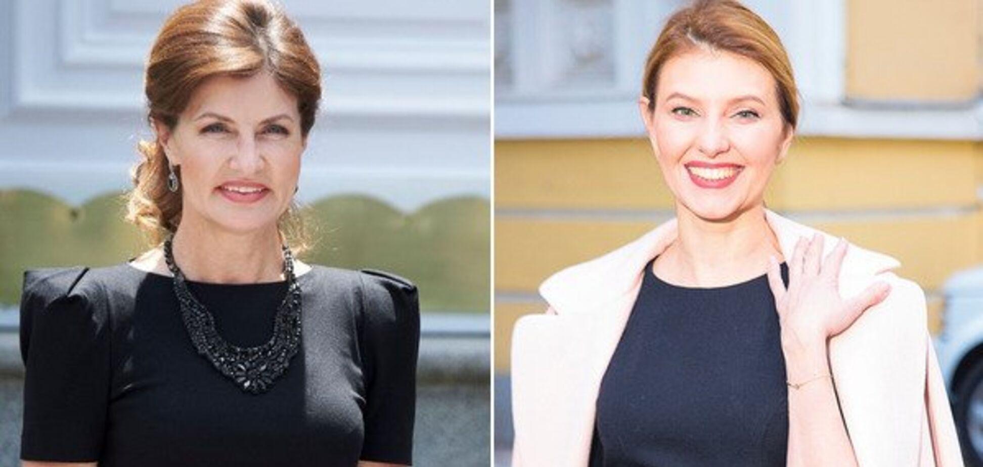 Марина Порошенко vs Елена Зеленская: кто из первых леди одевается лучше