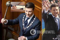 В Україні змінився президент: всі подробиці інавгурації Зеленського