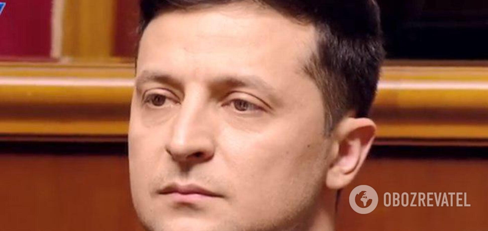 Зеленский назвал свое первое задание на посту президента