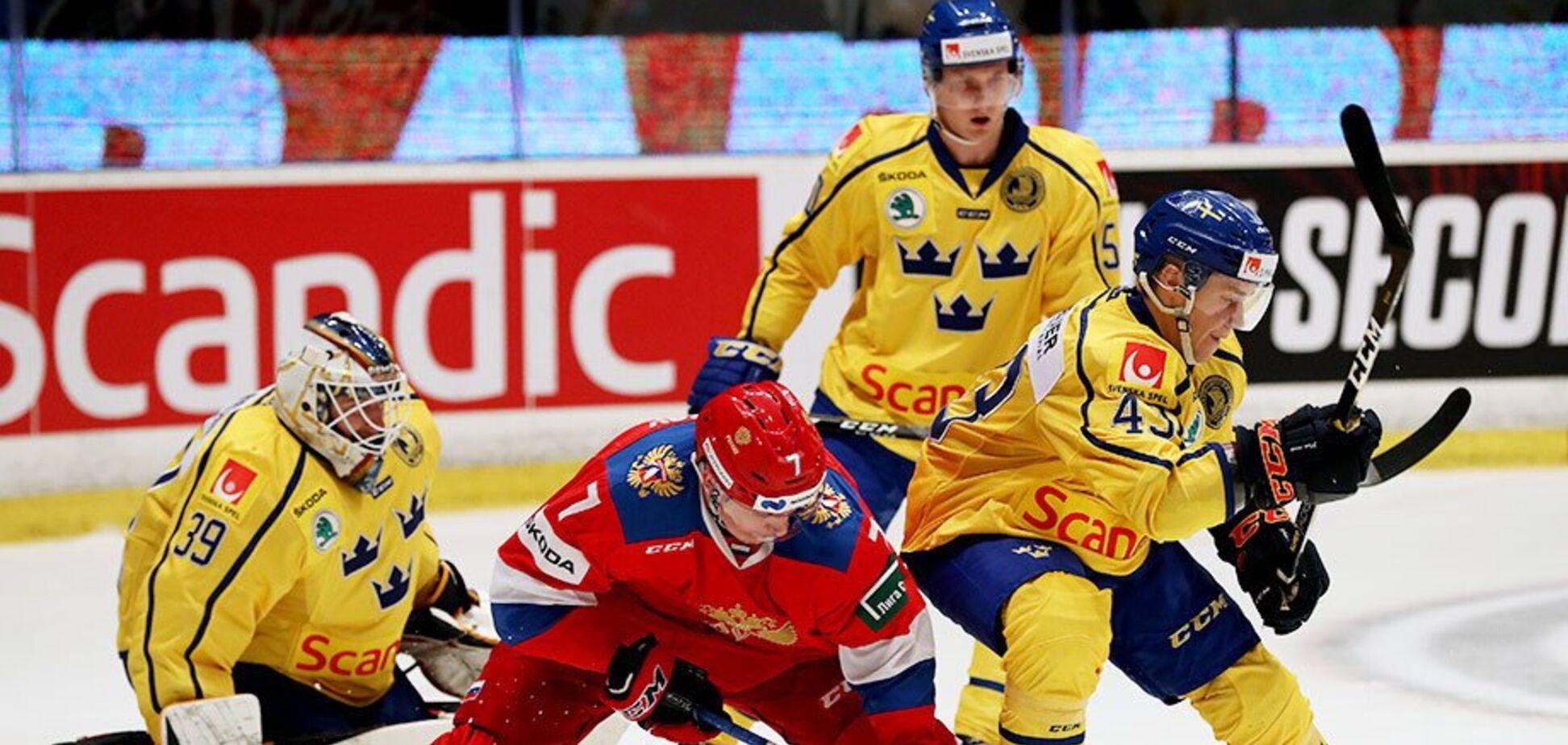 Де дивитися онлайн хокей Швеція — Росія: розклад трансляцій чемпіонату світу