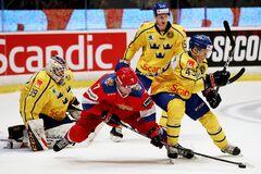 Где смотреть онлайн хоккей Швеция – Россия: расписание трансляций чемпионата мира