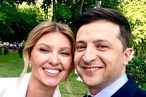 Елена и Владимир Зеленские