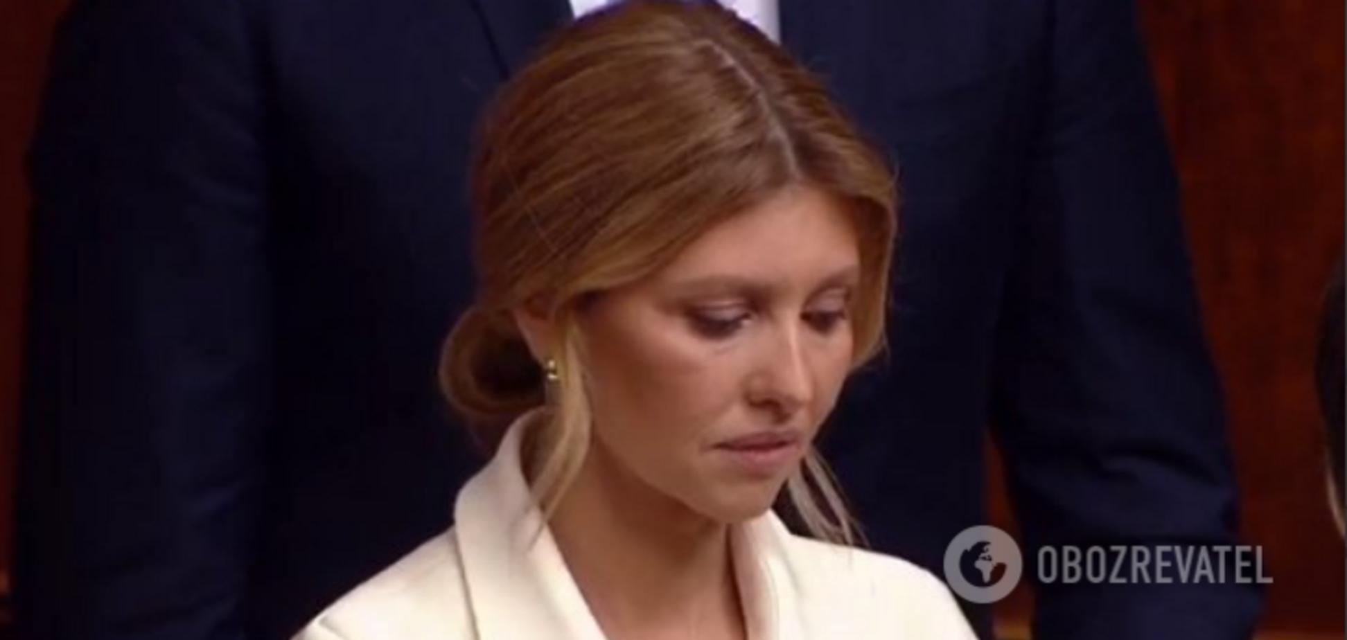 Чому дружина Зеленського засмутилася на інавгурації: названа причина