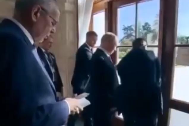 """Владимир Путин в санатории """"Русь"""""""