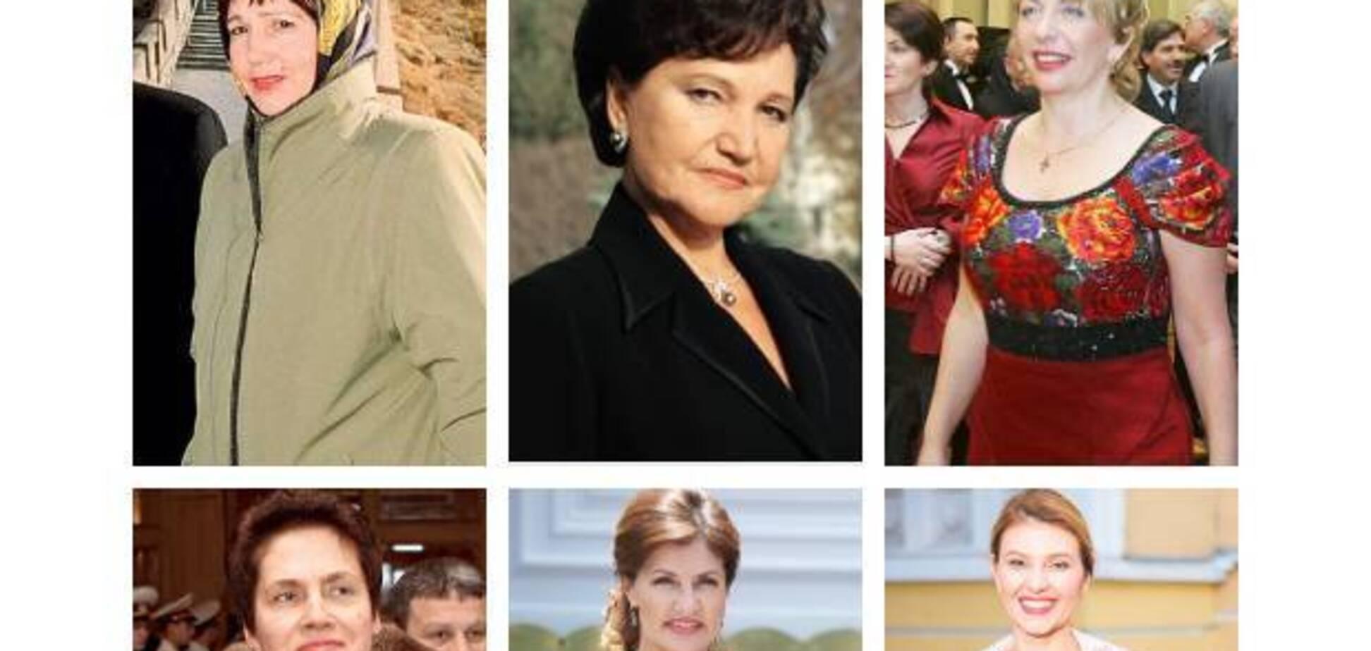 Как менялся стиль первых леди Украины за годы независимости: фото