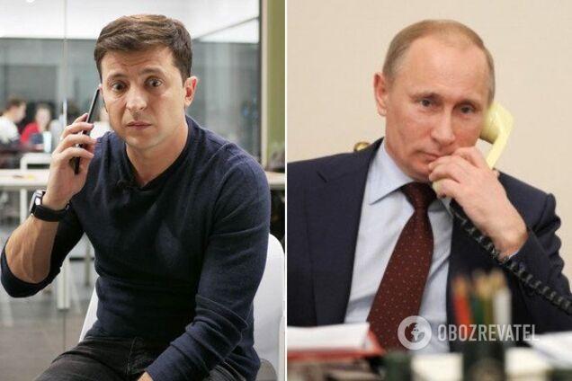 Зеленский и Путин