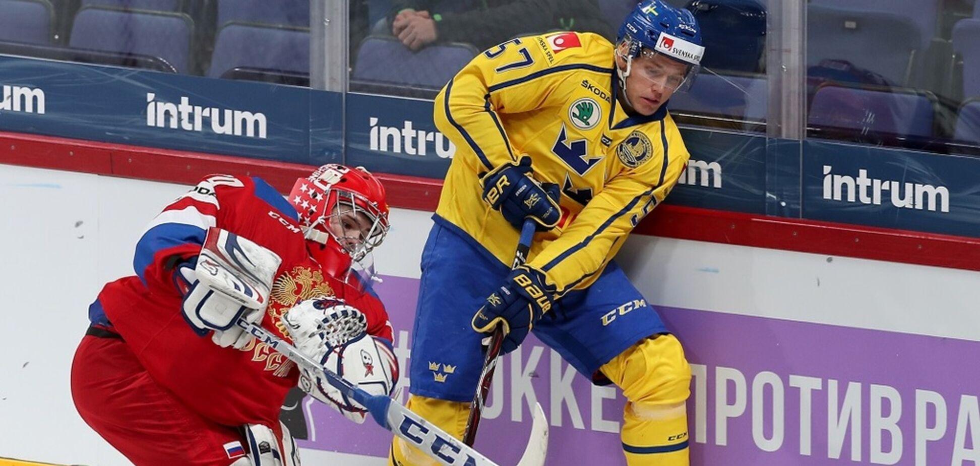 Росія розбила Швецію на чемпіонаті світу з хокею