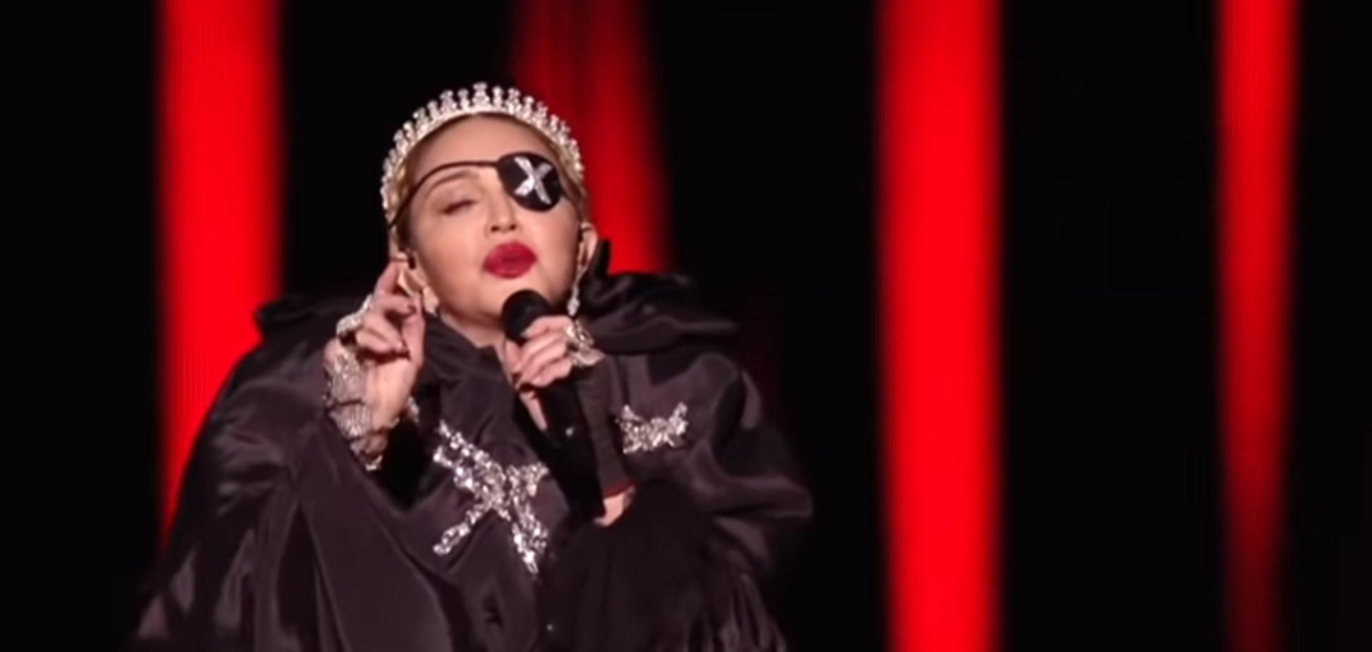 Мадонну викрили у брехні на Євробаченні-2019: показове відео
