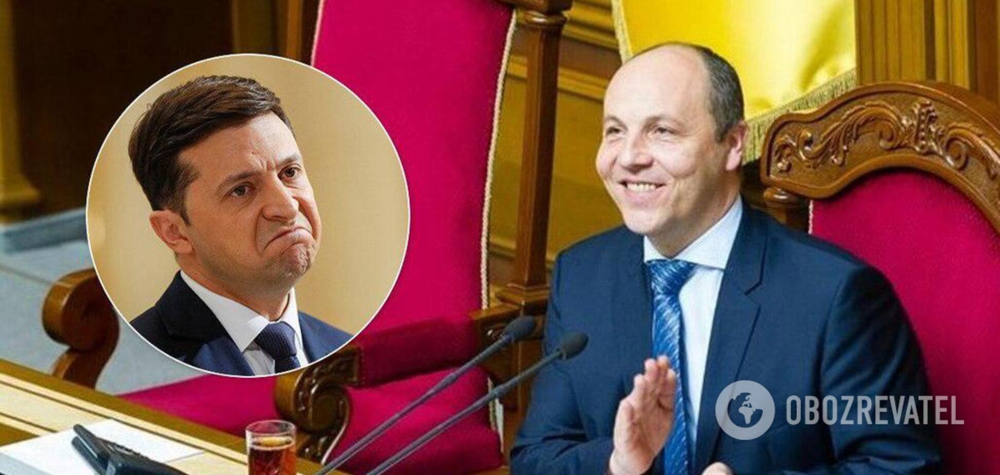 Рада відмовилася розглядати законопроект Зеленського про вибори
