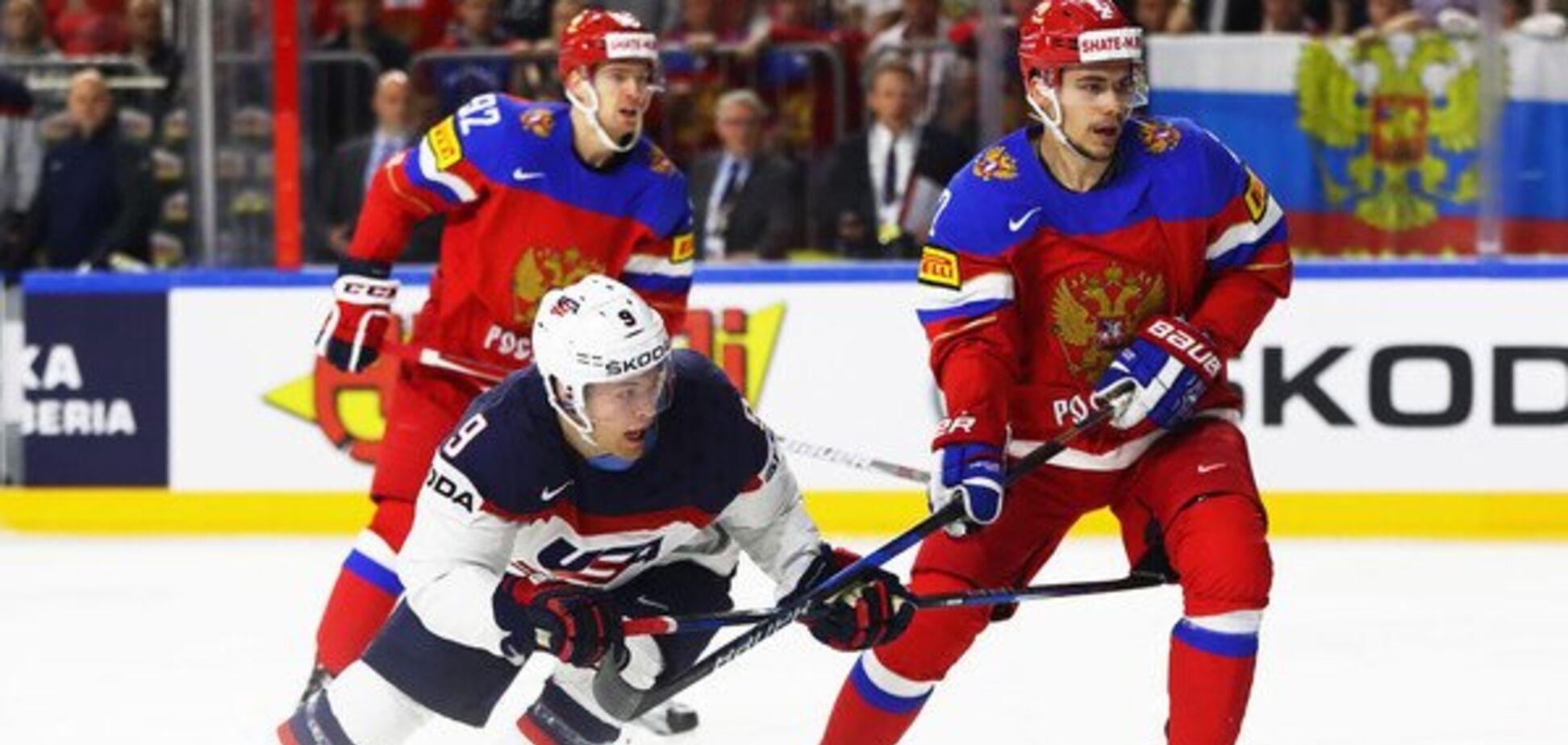 Де дивитися онлайн хокей Росія — США: розклад трансляцій чемпіонату світу