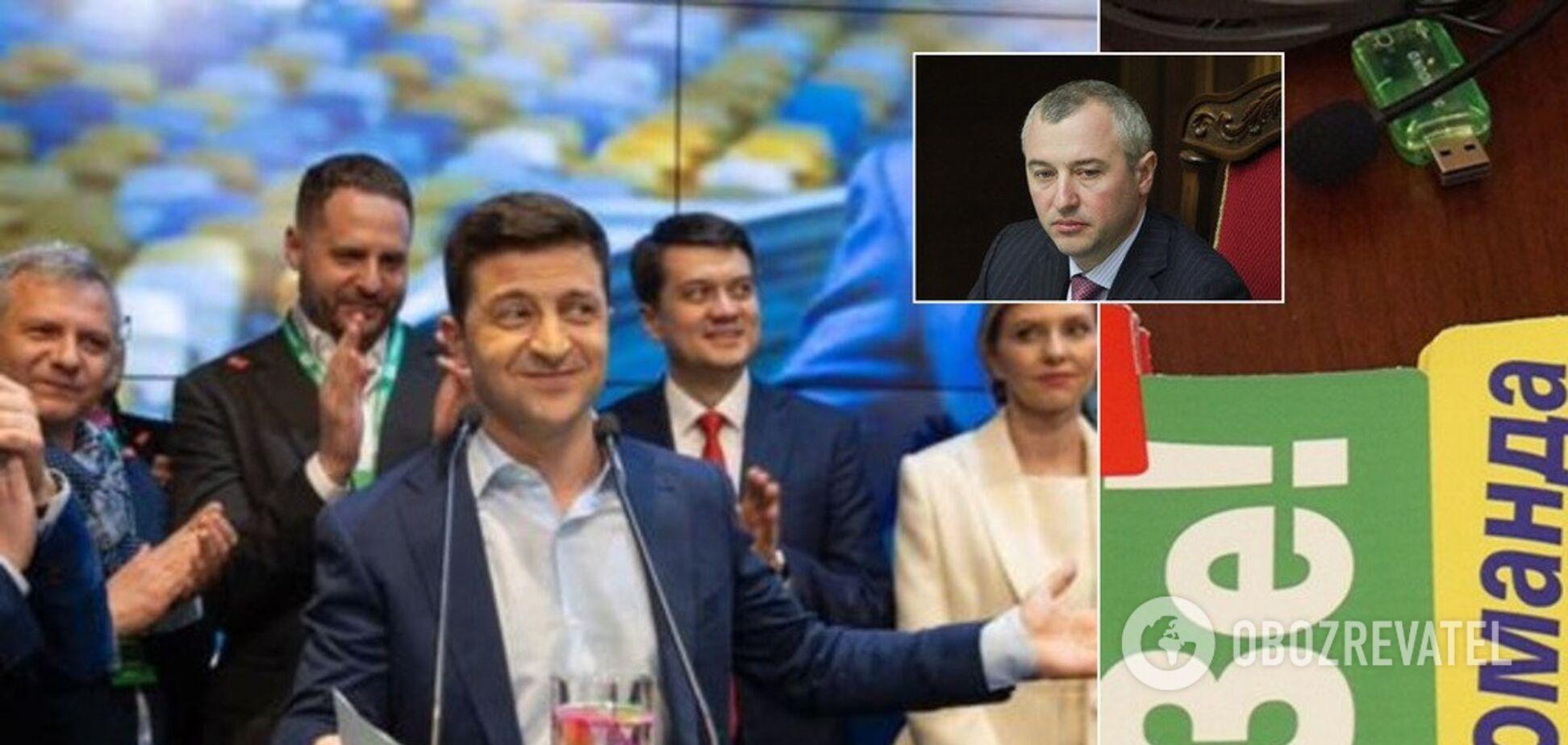 'Король контрабанды' и глава 'Регионов': всплыли скандальные факты о члене команды Зеленского